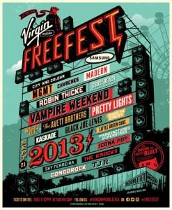 Indie/alternative music fan? Don't miss VirginMobile FreeFest