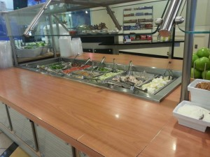 Fresh not frozen: Could LHS join the salad bar movement?