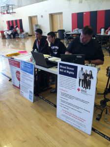 Photo of the day: Blood drive October 29, 2013