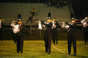 All aboard: Marching band plays this year's show, The Traveler