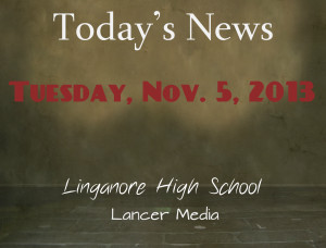 Today's news: Tuesday, November 5, 2013