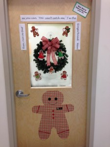 Teachers decorate doors for the holidays: Vote for your favorite!
