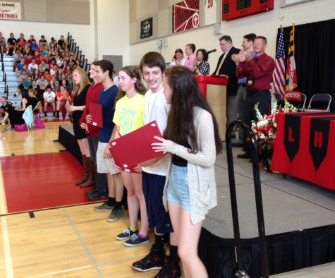 Photo of the Day 5/28/14: Annual LHS awards ceremony celebrates students outstanding achievements