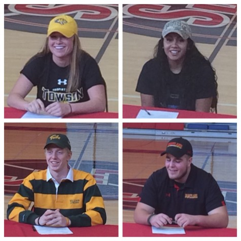Linganore senior athletes commit to colleges on National Signing Day