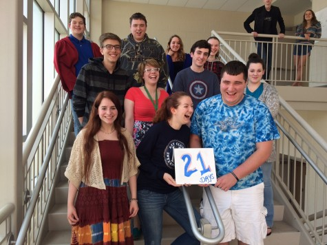 Class of 2015: 21 more school days