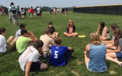 Photo of the day: Windsor Knolls Middle takes on Move-Up Day 6/11/15