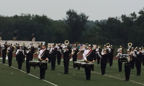 Band students get tribal: this year's show reaches new heights