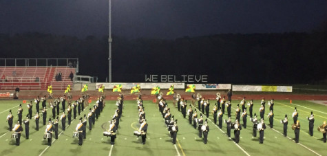 Marching band and color guard compete in the Region 5 Championships: Photo of the Day 10/24/15