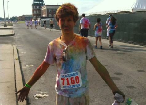 National Art Honor Society raises money for scholarship, charity with color run