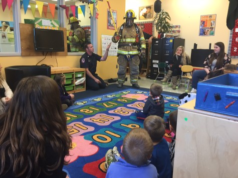 Firefighters visit Little Lancers: Photo of the Day 11/17/15