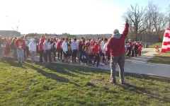 Fourth annual Eggnog Jog raises money for cancer cure: Photo of the Day 12/19/15
