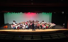Band plays for Santa's Workshop: Photo of the day 12/22/15