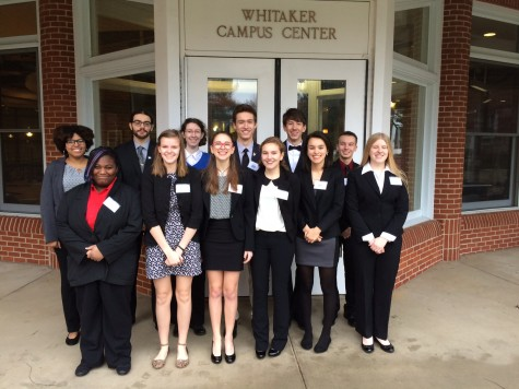 Model UN students deliberate global issues at Hood College