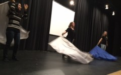 Color guard creates its own showcase: Photo of the day 1/14/2016