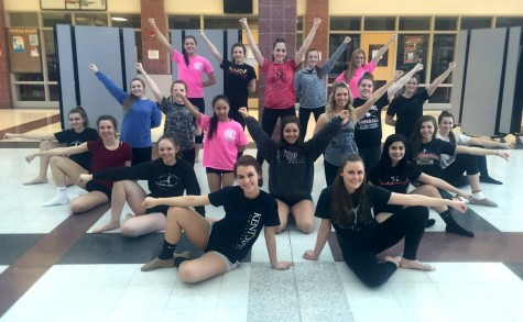 Pom and Dance team prepares for new competition season: Photo of the day 2/19/16