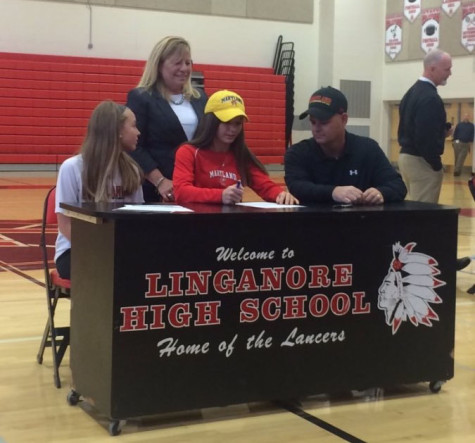 Hannah Hoefs signs to play soccer at University of Maryland