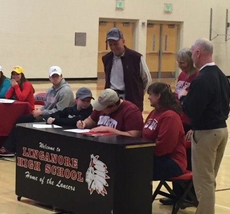 Matt DeMember signs to play football for Grove City College