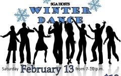Heat up Winter: SGA set to host Winter dance