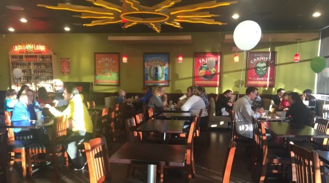 Class of 2019 hosts fundraiser at California Tortilla: Photo of the Day: 3/19/16