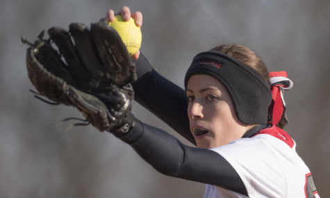 Softball team starts the season with a victory: Photo of the Day 3/25/2016