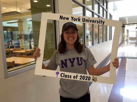 LHSsees2020: Maria Pellicier takes of bite of the Big Apple at New York University