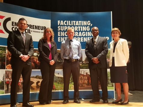 Robert Winter finalist in the first Frederick Startup Competition