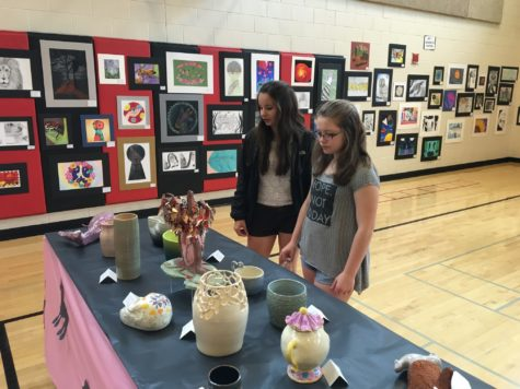 Annual show showcases LHS art: Photo of the Day 4/22/16