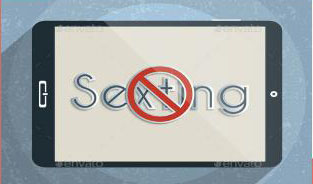 DeGrange and Fink inform teens about sexting