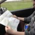 Senior Emily Gorham helps navigate senior Alyssa Mattison through the historical roads of Antietam (and only got lost twice).
