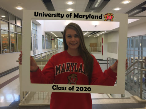 LHSsees2020: Kayla Sheehy graduates from 'Lancer Pride' to 'Maryland Pride'