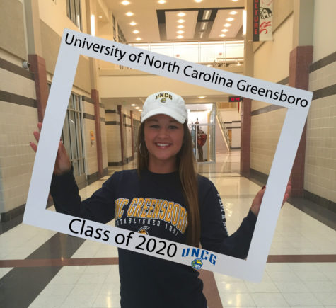 LHSsees2020: Lexi Gillum chooses Greensboro
