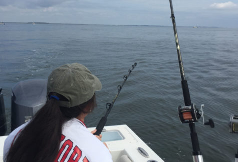 Fishing and crabbing are part of summer on the Chesapeake Bay