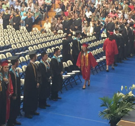 """""""Long Live"""" the Class of 2016: Lazarus and Yurich receive Golden Lance Awards at graduation"""