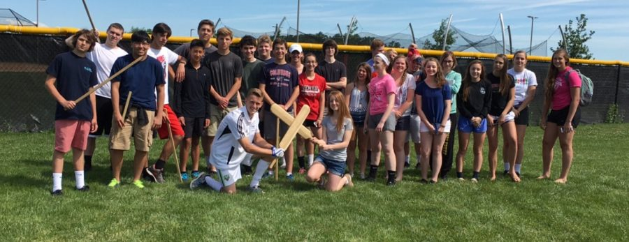 AP World enjoys their last few days of the 2015-2016 school year: Photo of the Day 6/14/16