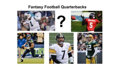 Jason Byrd chooses his fantasy football quarterbacks