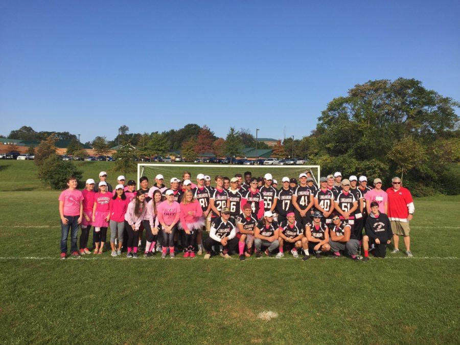 Linganore bands together for a cure to breast cancer
