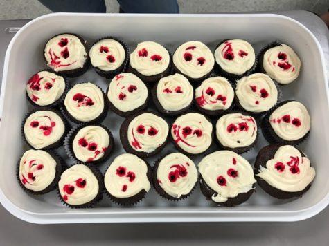 Lancer Media Kitchen: 7 days to Halloween – Make cupcakes
