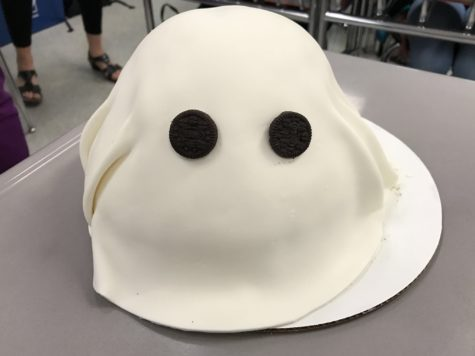 Lancer Media Kitchen: 11 days to Halloween – Make a ghost cake