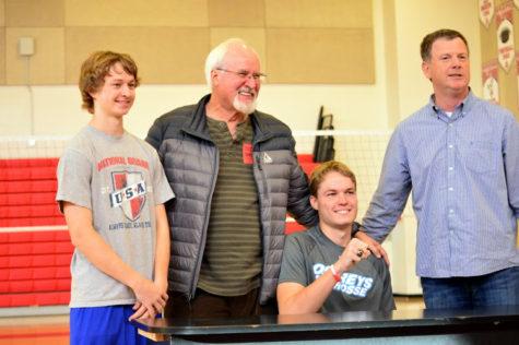 Matt Honchalk signs to Stockton College for lacrosse