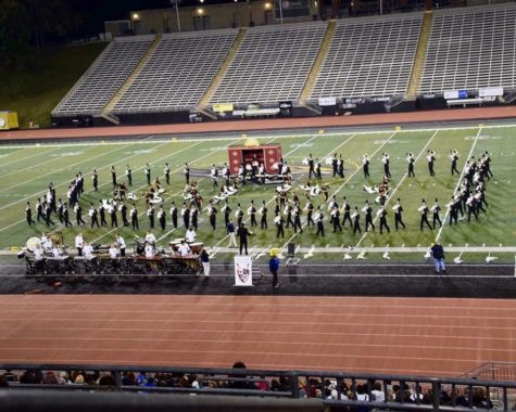 Marching band takes the Twilight Zone to Towson University