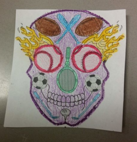 Lancer Media celebrates Día de los Muertos: Photo of the Day 11/1/16