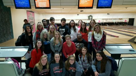 Unified P.E. class takes a field trip to the Mt. Airy Bowling  Alley: Photo of the Day 12/5/16