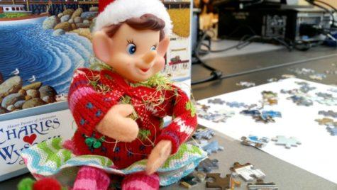 12/21/16: Where did the Elfie take the selfie?