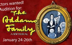 Audition for the Addams Family spring musical: Photo of the day 1/8/16