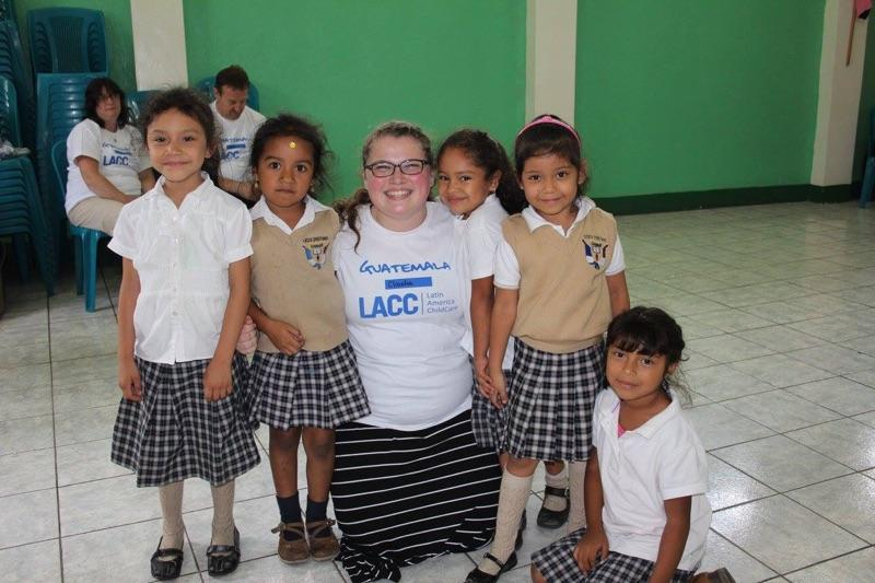 Claudia+Bremer+in+Guatemala+City%2C+Guatemala%2C+playing+with+children+at+Latin+American+Childcare+schools.