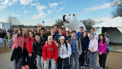 Polar Bear Plunge Cool Schools Challenge-Freezin' for a reason: Photo of the Day 1/26/17