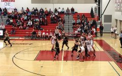 A tough battle and a loss to Frederick for Lancer ladies:  Photo of the Day 2/14/2017
