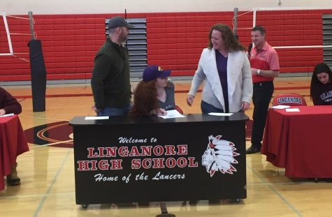Miranda Timberlake signs to play soccer at Nazareth College