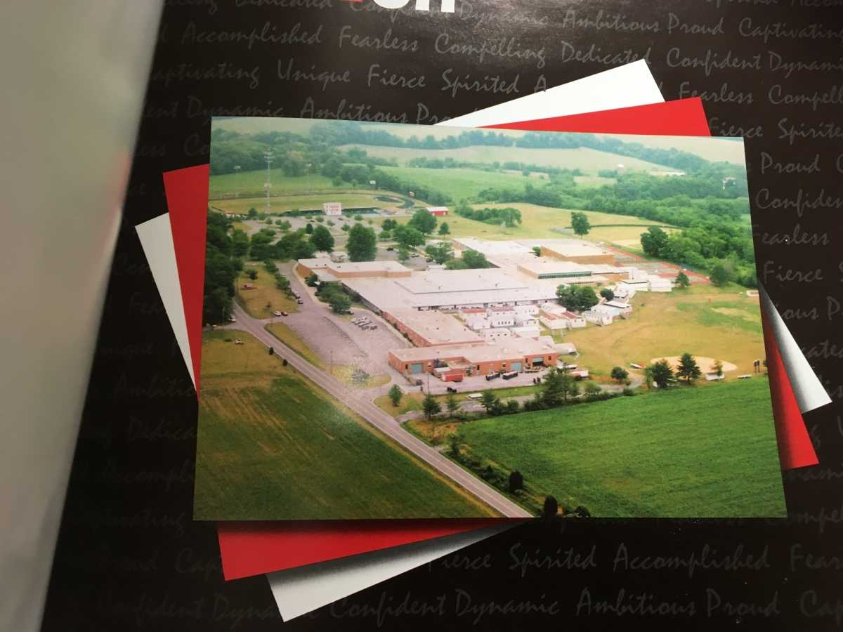 A last look at the old building. Photos courtesy of Linganore yearbook collection, yearbook of 2008