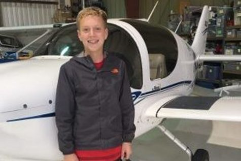 At 15, Barbagallo aims for pilot's license